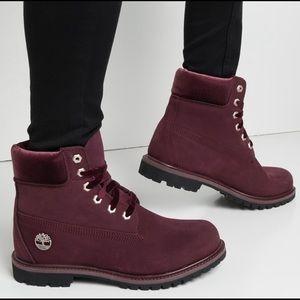 Timberland Premium Velvet Trim Boots